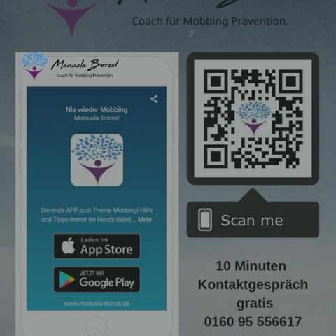 Anti Mobbing App – Manuela Borzel stellt sich und ihre Arbeit vor!